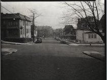 Image of Benziger Avenue and Sherman Avenue, photo by Herbert A. Flamm, 1951