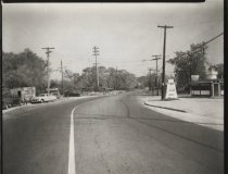 Image of Richmond Avenue at Richmond Hill Road, photo by Herbert A. Flamm, 1952