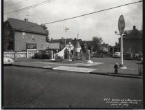Image of Tydol service station, photo by Herbert A. Flamm, 1953