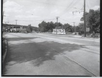 Image of Richmond Road at Targee Street, photo by Herbert A. Flamm, 1951