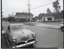 Image of Clove Road at Britton Avenue, photo by Herbert A. Flamm, 1956