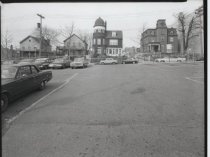 Image of St. George municipal parking lot, photo by Herbert A. Flamm, 1964