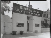 Image of Mickey Jay's Restaurant, photo by Herbert A. Flamm, 1967