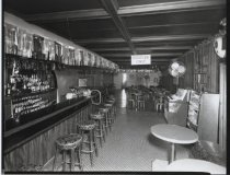 Image of Mardi Gras Restaurant interior, photo by Herbert A. Flamm, 1966