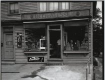 Image of Magnales Delicatessen, photo by Herbert A. Flamm, 1949