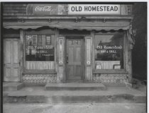 Image of Old Homestead Bar & Grill, photo by Herbert A. Flamm, 1949