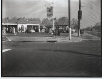 Image of [Grant Manor service station] - Negative, Film