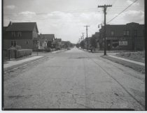 Image of Simonson Avenue at Walker Street, photo by Herbert A. Flamm, 1953