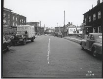 Image of Van Duzer Street, photo by Herbert A. Flamm, 1948