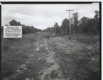 Image of Ravenhurst Park construction site, photo by Herbert A. Flamm, 1952
