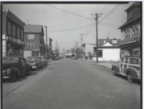 Image of Henderson Avenue, photo by Herbert A. Flamm, 1954