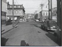 Image of Cedar Street at Broad Street, photo by Herbert A. Flamm, 1956