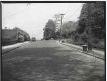 Image of Westervelt Avenue and Hamilton Avenue, photo by Herbert A. Flamm, 1949