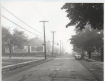 Image of Amboy Road at Huguenot Avenue, photo by Herbert A. Flamm, 1952