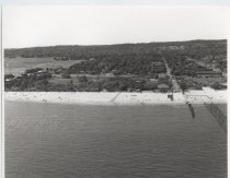 Image of [Aerial view of Woodland Beach] - Negative, Film