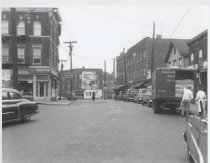 Image of Jersey Street and Brighton Avenue, photo by Herbert A. Flamm, 1957