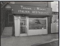 Image of Teresa & Mimmo Restaurant, photo by Herbert A. Flamm, 1971