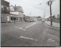 Image of [Castleton Avenue at Brighton Avenue] - Negative, Film