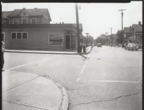 Image of Sharpe Avenue and Grove Avenue, photo by Herbert A. Flamm, 1951