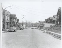 Image of Post Avenue at Jewett Avenue, photo by Herbert A. Flamm, 1957