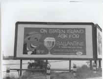 Image of [Billboard, Ballantine Beer] - Negative, Film