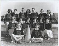 Image of [New Dorp High School cheerleaders] - Negative, Film