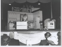 Image of Gas company home show, photo by Herbert A. Flamm, ca. 1950-1955