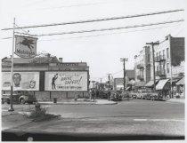 Image of Main Street at Amboy Road, photo by Herbert A. Flamm, 1948