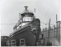 Image of Esso Tug No. 11, photo by Herbert A. Flamm, 1955