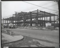 Image of [New York Telephone Co. building under construction] - Negative, Film