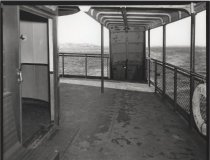 """Image of [69th Street Ferry boat """"The Tides""""] - Negative, Film"""