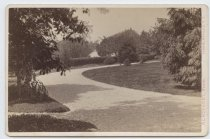 Image of Grounds of Anson Phelps Stokes house, photo by Isaac Almstaedt, ca. 1880