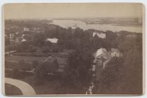 Image of View from Anson Phelps Stokes house, photo by Isaac Almstaedt, ca. 1880