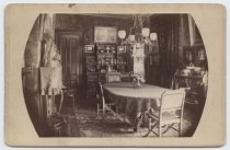 Image of Dining Room, Anson Phelps Stokes house, photo by Isaac Almstaedt, ca. 1880