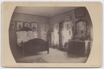 Image of Bedroom, Anson Phelps Stokes house, photo by Isaac Almstaedt, ca. 1880