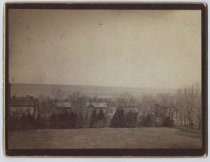 Image of View near Anson Phelps Stokes house, photo by Isaac Almstaedt, ca. 1880