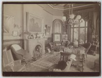Image of Parlor, Anson Phelps Stokes house, photo by Isaac Almstaedt, ca. 1880
