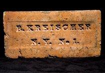 Image of top of brick