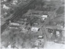 Image of Aerial view of Eltingville, photo by Herbert A. Flamm, 1968
