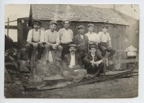 Image of [Atlantic Terra Cotta Company workers] - Print, Photographic