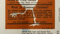 Image of detail, Broasted Chicken