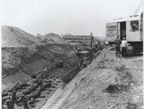 Image of [Seaside Boulevard construction project] - Negative, Film