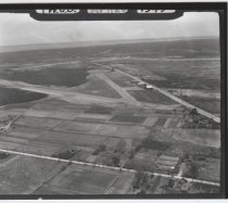 Image of Aerial view of Staten Island Airport, photo by Herbert A. Flamm, 1949