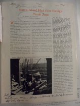 Image of magazine article from The Westsider, Winter 1955