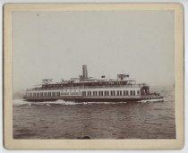 Image of Ferry boat Robert Garrett, photo by Charles M. Steinrock, ca. 1898