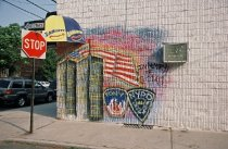 Image of Mural at Sharkey's Sports Bar,  photo by Amesse Photography, 2002