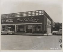 Image of Northfield Savings & Loan Association, photo by Herbert A. Flamm, 1957