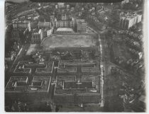 Image of Aerial view of Curtis High School, photo by Herbert A. Flamm, 1948