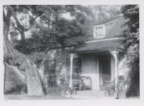 Image of Billiou-Stillwell-Perine house, rear view