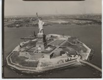 Image of Statue of Liberty, photo by Herbert A. Flamm, 1951
